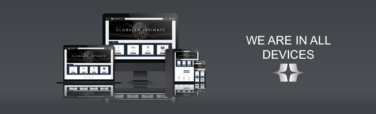 We are in all devices banner